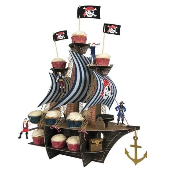 Piraten Tischdekoration Geburtstag, Meri Meri