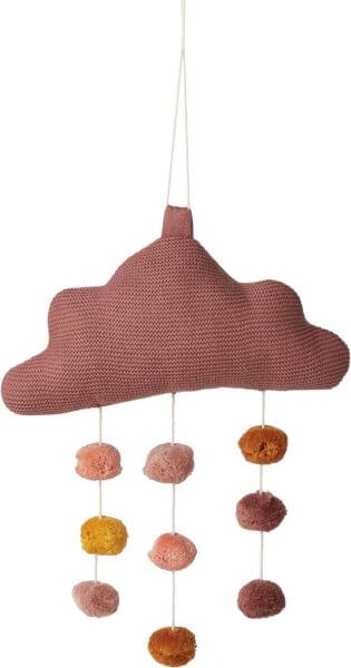 Liewood Mobile Wolke Pink_LW12856-2250