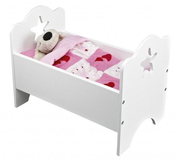 Kid's Concept Puppenbett Star Weiß