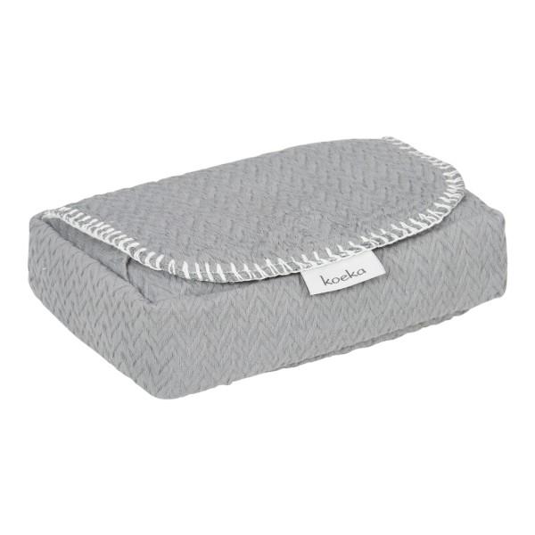 Koeka Bezug für Feuchttücher Stockholm Steel Grey