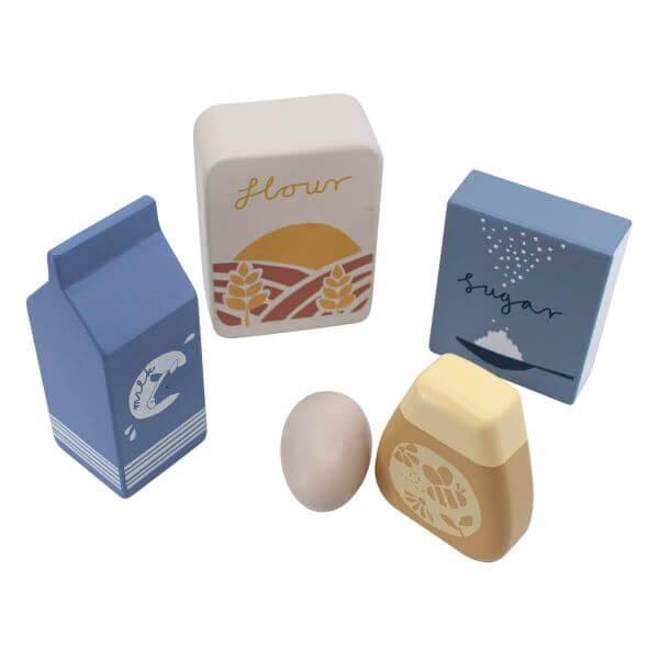 Sebra Einkaufsbeutel mit Lebensmitteln aus Holz_SEB301730019