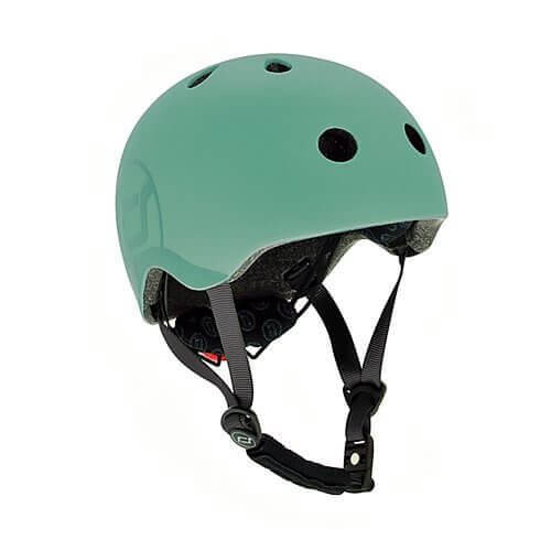 Scoot and Ride Fahrradhelm Kinder S-M / 51-55 cm Forest