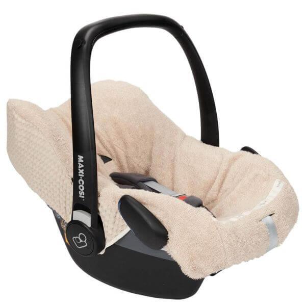 Koeka Bezug für Babyschalen Antwerp Sand 3-Punkt Gurt