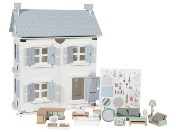 Little Dutch Puppenhaus inkl. Möbel 20-tlg.