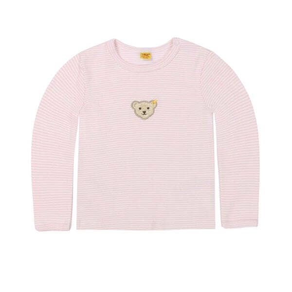 Steiff T-shirt in rosa Gr: 74
