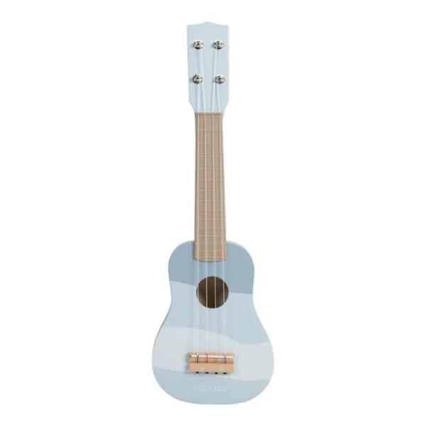 Little Dutch Holz Gitarre Blau_LD7015