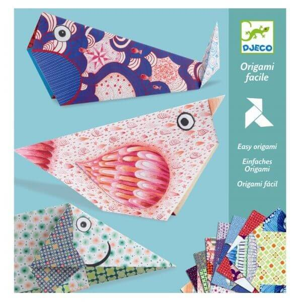 Bastelset Einfaches Origami Tiere, Djeco