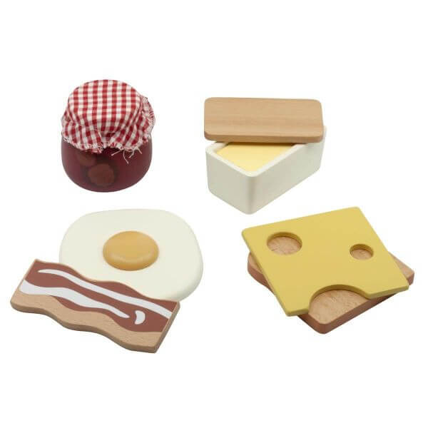 Sebra Frühstück-Set aus Holz_SEB301730020