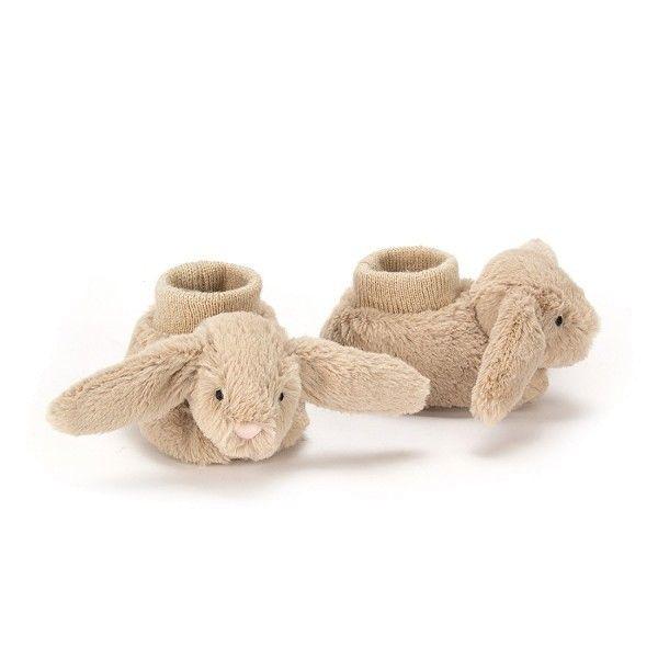 Bashful Beige Bunny Hase Babyschühchen 0-6 Mon, Jellycat