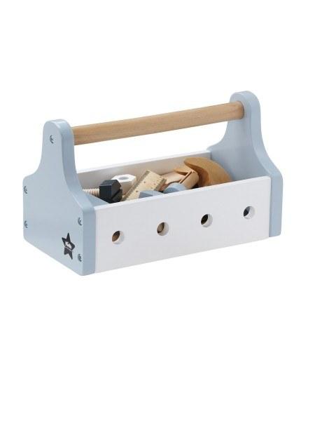 Kid's Concept Werkzeugkiste Pastell Blau
