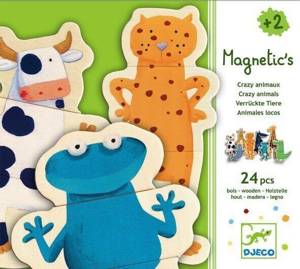 Magnetics Magnete Verrückte Tiere, Djeco