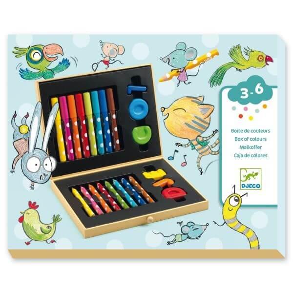 Djeco Farbenbox für Kleine