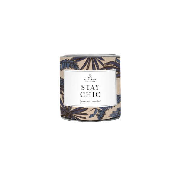 "The Gift Label Duftkerze klein ""Stay Chic"""