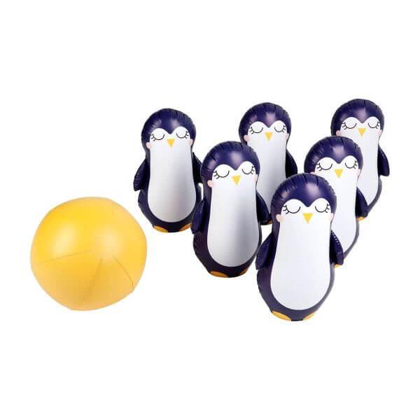 Sunnylife aufblasbares Kegelspiel Pinguin_S0PSKIPG