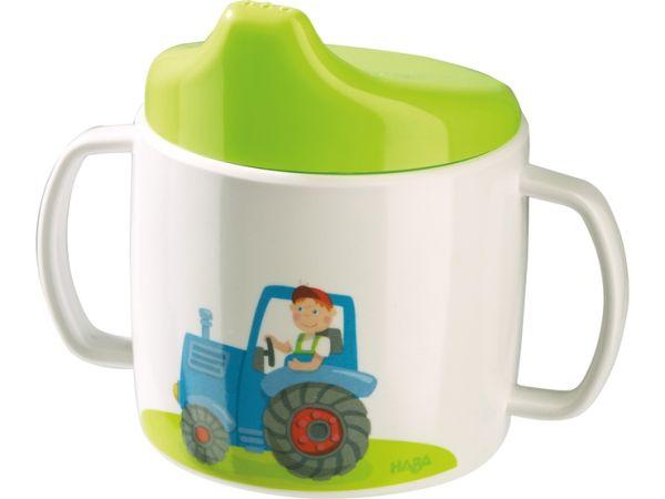Traktor Trinklerntasse Melamin, Haba