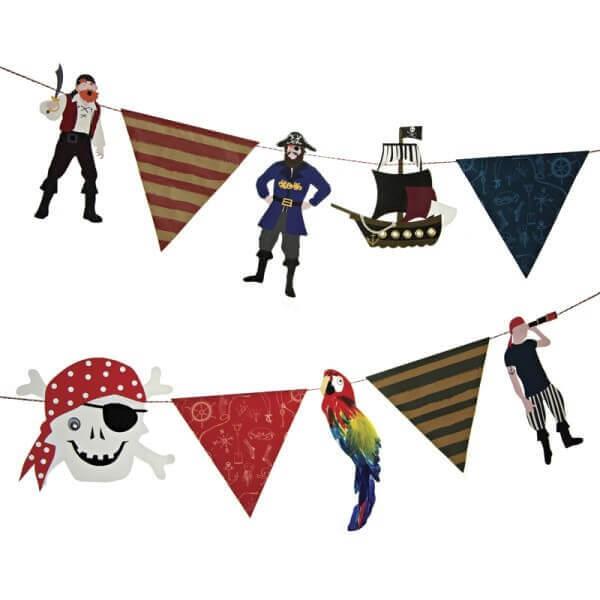 Piraten Girlande, Meri Meri