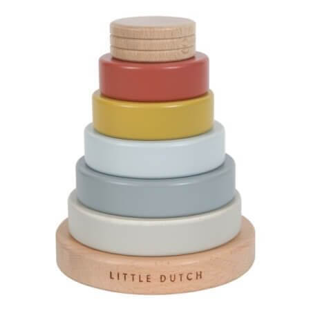 Little Dutch Stapelturm mit Ringen_LD4703