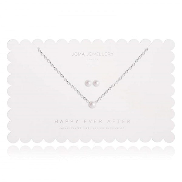 "Joma Jewellery Schmuckset ""Happy Ever After"" Pearl"