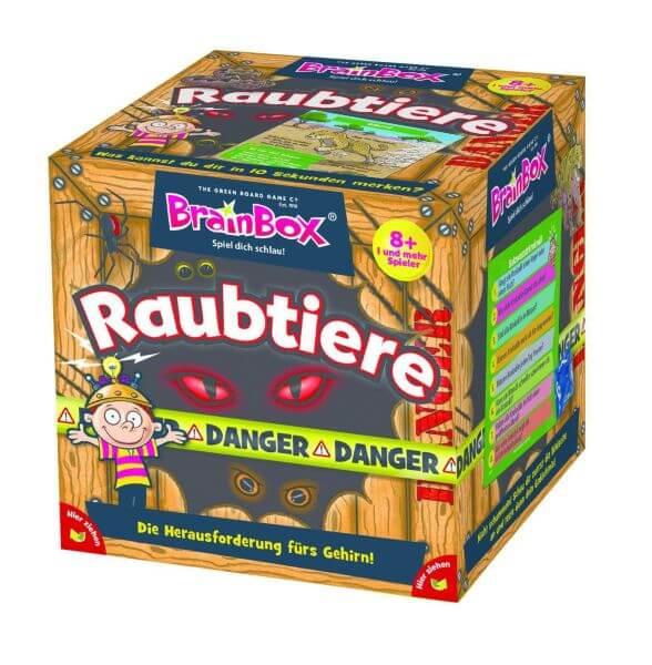 Brainbox Gedächtnis-Spiel Raubtiere