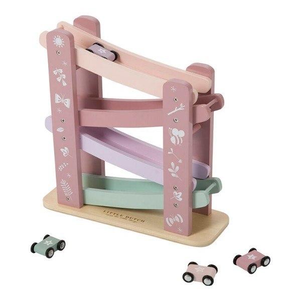 Little Dutch Holzrennbahn Adventure Pink ab 18 Monaten