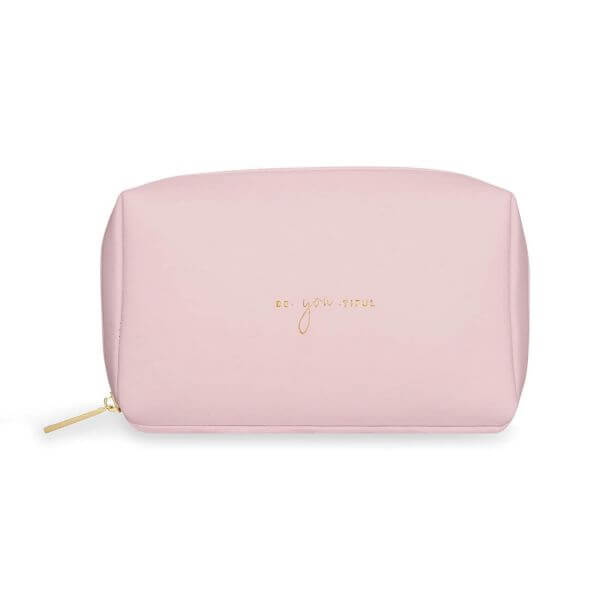 "Katie Loxton Make-Up Tasche ""be-you-tiful"" Rosa 12x21x7cm"