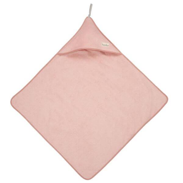 Koeka Badecape Dijon Organic Shadow Pink_KOE1016-1001-415
