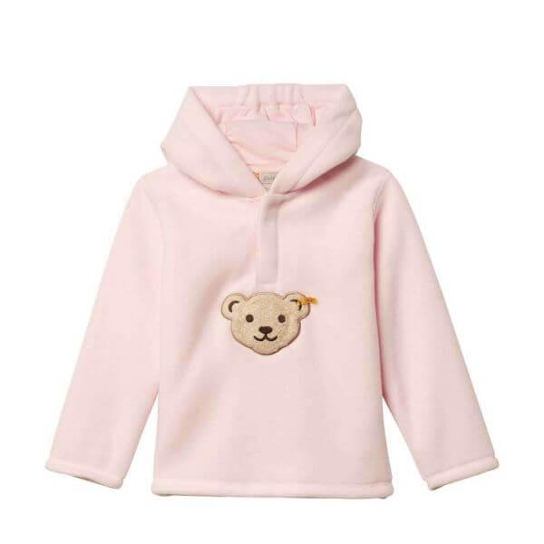 Steiff Sweatshirt Fleece in rosa Gr:92