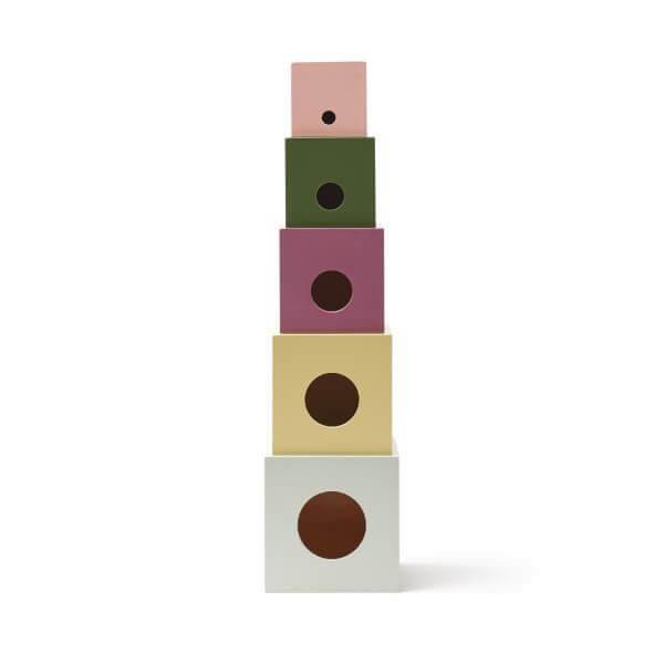 Kid's Concept Stapelwürfel Holz Edvin_KC1000451