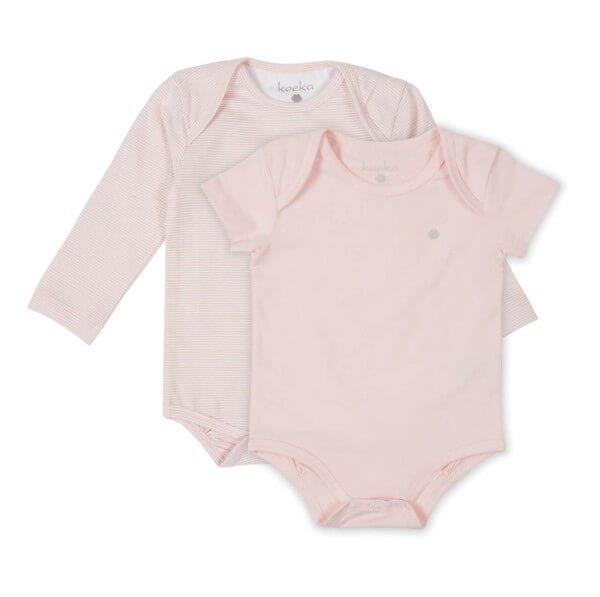 Koeka Baby Strampler-Set Elwyn Dusty Pink