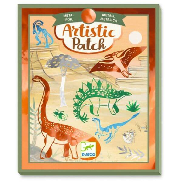 Djeco Artistic Patch: Dinosaurier