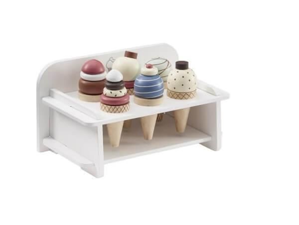 Kids Concept Eiscremehalter Weiß