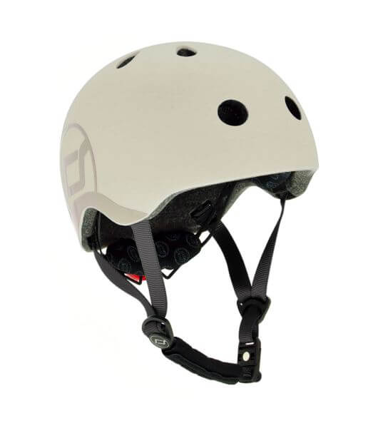 Fahrradhelm Kinder S-M / 51-55 cm in ash von Scoot and Ride