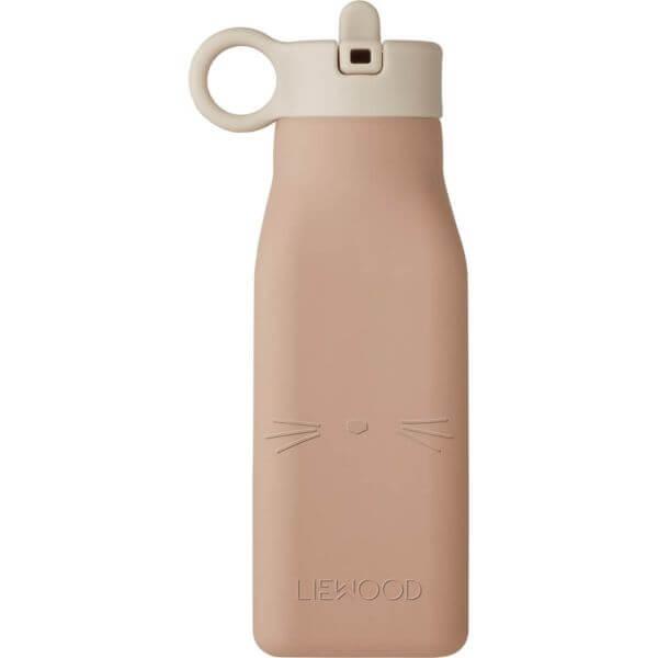 Liewood Trinkflasche Warren Katze rosa