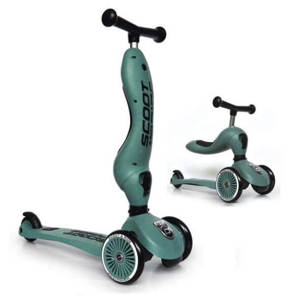 Scoot and Ride Roller 2-in1 Highwaykick 1 Forest