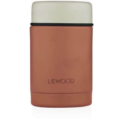 Liewood Isolierbehälter Katze Altrosa_LW12862-2073