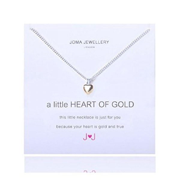 "Joma Jewellery Kette ""A little HEART OF GOLD"""
