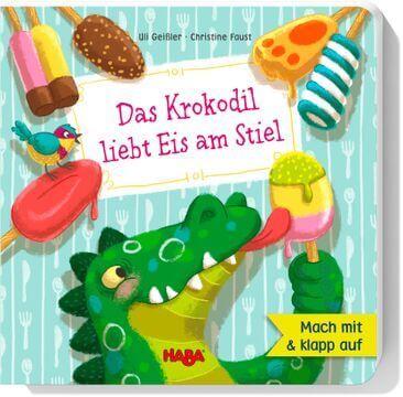 HABA Pappbilderbuch Das Krokodil liebt Eis am Stiel