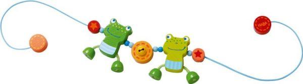 HABA Kinderwagenkette Froschfreunde