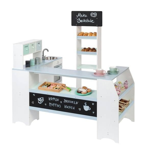 MUSTERKIND® Kaufladen Bäcker & Konditor Grano Weiß/Graublau