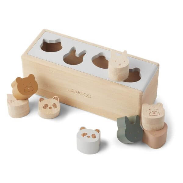 Liewood Puzzle Box Midos Holz_LW13063-6009