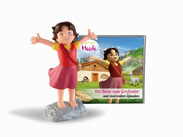 Tonies Hörfigur Heidi - Die Reise zum Großvater