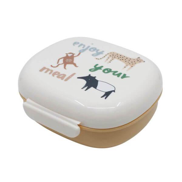Sebra Lunchbox mit Trennwand Wildleben