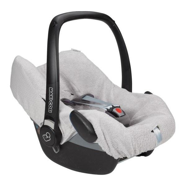 Koeka Babyschalenbezug Stockholm Silver Grey