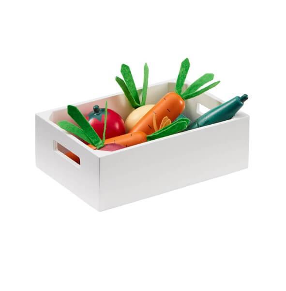 Kids Concept Gemüsekiste aus Holz