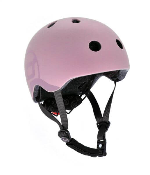 Fahrradhelm Kinder S-M / 51-55 cm in rosa von Scoot and Ride