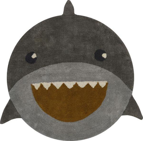 Tapis Petit Teppich Hai rund 110x110 cm_TPF1400