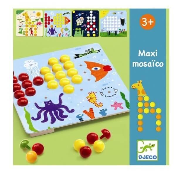 Steckspiel Maxi Mosaik, Djeco