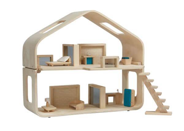 Plantoys Modernes Puppenhaus Holz