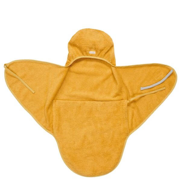 Koeka Umschlagtuch für Neugeborene Dijon Senfgelb