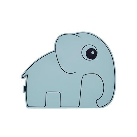 Done by Deer Platzmatte Elefant Blau